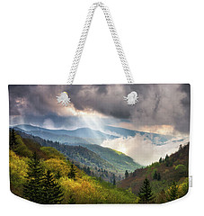 Great Smoky Mountains National Park Scenic Landscape Gatlinburg Tn Weekender Tote Bag