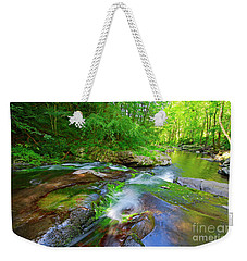 Great Smoky Mountains National Park Scenic Waterfall Landscape Weekender Tote Bag