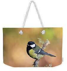 Great Tit - Parus Major Weekender Tote Bag