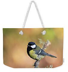 Great Tit - Parus Major Weekender Tote Bag