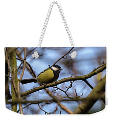 Great Tit Woods Weekender Tote Bag