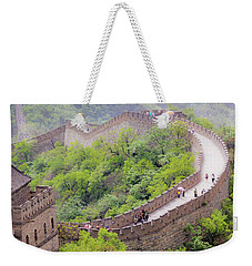 Great Wall At Badaling Weekender Tote Bag