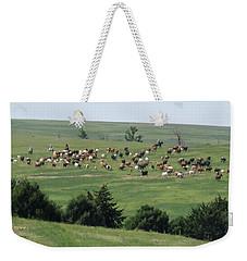 Great Western Cattle Drive Weekender Tote Bag