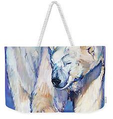 Great White Bear Weekender Tote Bag