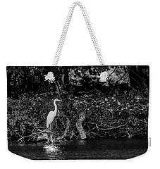 Great White Heron Weekender Tote Bag
