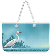Great White Weekender Tote Bag