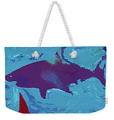 Great White Shark Weekender Tote Bag