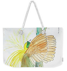 Greater Bird Of Paradise Weekender Tote Bag