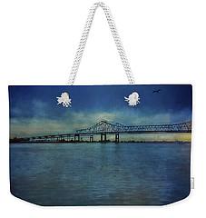 Greater New Orleans Bridge Weekender Tote Bag