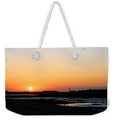 Greater Prudhoe Bay Sunrise Weekender Tote Bag