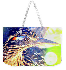 Greater Roadrunner Portrait 2 Weekender Tote Bag