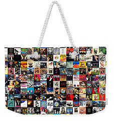 Greatest Album Covers Of All Time Weekender Tote Bag by Taylan Apukovska