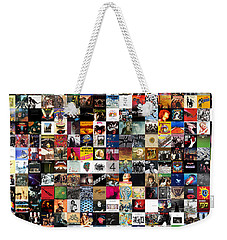 Greatest Rock Albums Of All Time Weekender Tote Bag