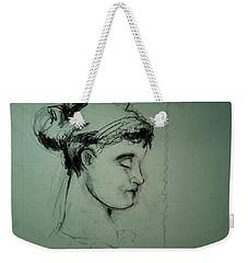 Grecco Girl Weekender Tote Bag