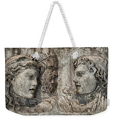 Greek Furneral Box Weekender Tote Bag by Gary Warnimont
