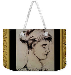 Greek Girl Weekender Tote Bag