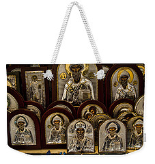 Greek Orthodox Church Icons Weekender Tote Bag
