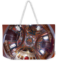 Greek Orthodox Church Interior Weekender Tote Bag