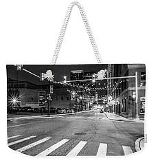 Greek Town In Black And White Weekender Tote Bag