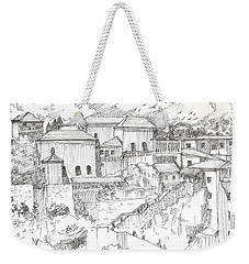 Greek Village Weekender Tote Bag