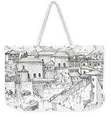 Greek Village Weekender Tote Bag