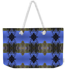 Green And Blue Weekender Tote Bag