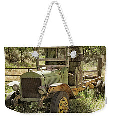 Green Antique Mack Weekender Tote Bag
