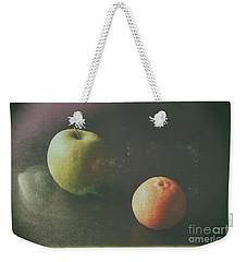 Green Apple And Tangerine Weekender Tote Bag by Jimmy Ostgard