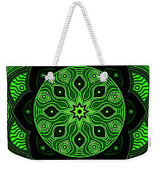 Green Beauty Weekender Tote Bag