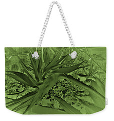 Weekender Tote Bag featuring the photograph Green Bird Of Paradise by Nareeta Martin