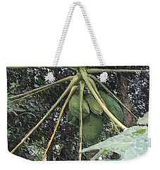 Green Birth Of The Universe Weekender Tote Bag