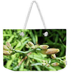 Green Buds Weekender Tote Bag