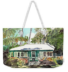 Green Cottage Weekender Tote Bag