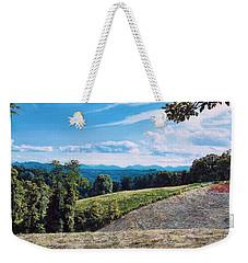 Green Country Weekender Tote Bag