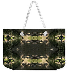 Green Design Weekender Tote Bag