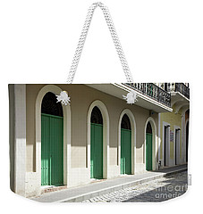 Green Doors Weekender Tote Bag
