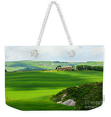 Green Escape In Tuscany Weekender Tote Bag