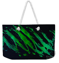 Green Escape Weekender Tote Bag