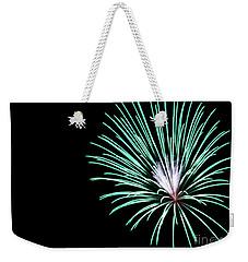Green Explosion Weekender Tote Bag