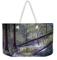 Green Eyed Lady Weekender Tote Bag