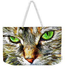 Zen Cat Weekender Tote Bag