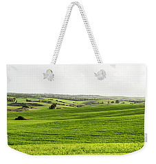 Green Fields. Weekender Tote Bag