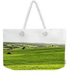 Green Fields. Weekender Tote Bag by Arik Baltinester
