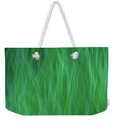 Green Fire 2 Weekender Tote Bag