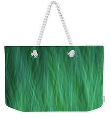 Green Fire 3 Weekender Tote Bag