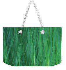 Green Fire 5 Weekender Tote Bag