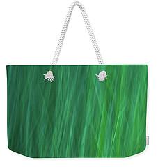 Green Fire 6 Weekender Tote Bag