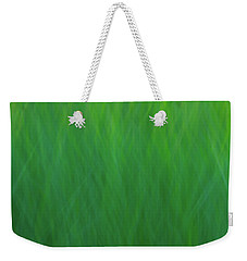Green Fire 7 Weekender Tote Bag