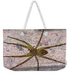 Green Fishing Spider Weekender Tote Bag
