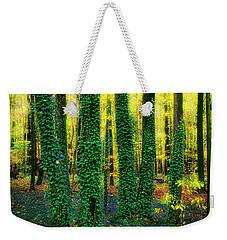 Green Five Weekender Tote Bag